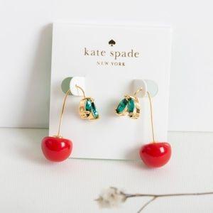 Kate Spade Ma Cherie Cherry Drop Earrings